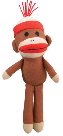 Sock Monkey Plush picture