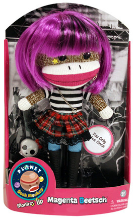 Planet Sock Monkey® Magenta Beetsch® picture