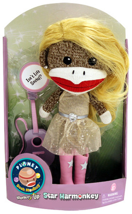 Planet Sock Monkey® Star Harmonkey®