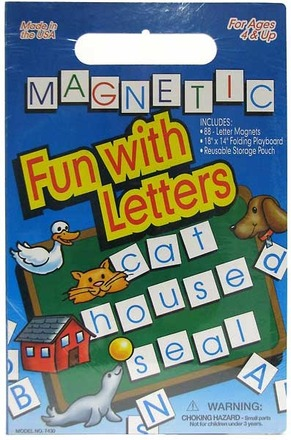 Magnetic Fun with Letters™