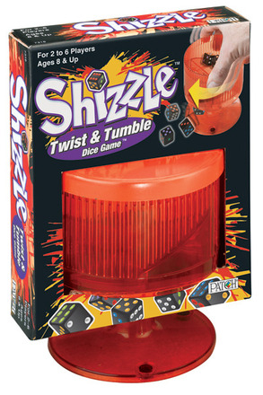 Shizzle® Twist & Tumble Dice Game™ picture