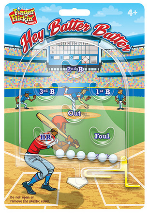 Finger Flickin'™ Games Hey Batter Batter™ picture