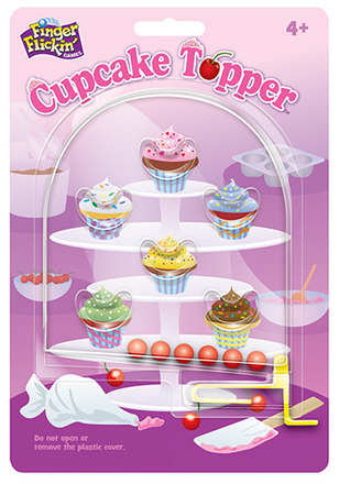 Finger Flickin'™ Games Cupcake Topper™ picture