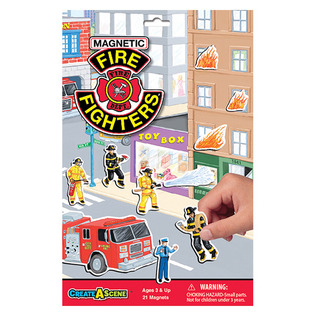 Create A Scene™ Magnetic Firefighters™