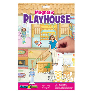 Create A Scene™ Magnetic Playhouse™ picture