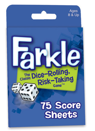 Farkle Score Sheets picture