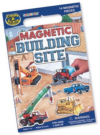 Create A Scene™ Magnetic Building Site™