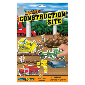 Create A Scene™ Magnetic Construction Site™