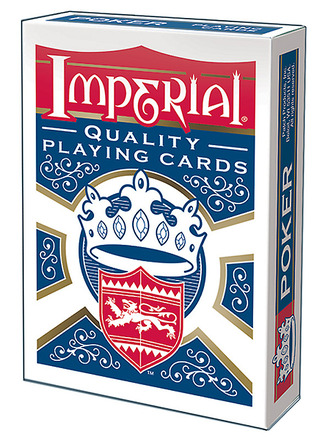 Imperial® Poker Playing Cards  Blue Deck picture