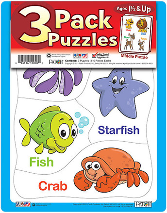 3 Pack Puzzles Set 2 picture