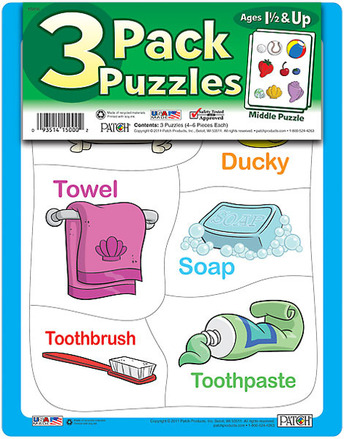 3 Pack Puzzles Set 6 picture