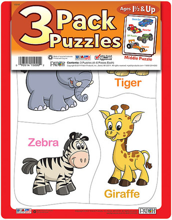 3 Pack Puzzles Set 8 picture