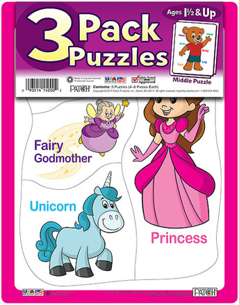 3 Pack Puzzles Set 7 picture