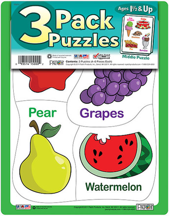3 Pack Puzzles Set 1 picture