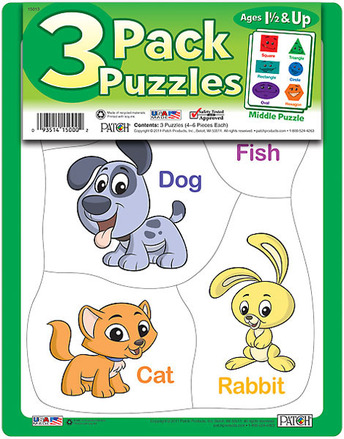 3 Pack Puzzles Set 3 picture