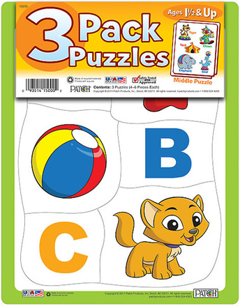 3 Pack Puzzles Set 5 picture