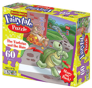 PuzzlePatch® Fairytale Puzzle The Tortoise and the Hare picture