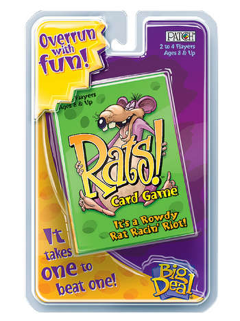 Big Deal® Rats!™ Card Game picture