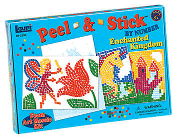 Enchanted Kingdom Peel & Stick&#8482; by Number picture
