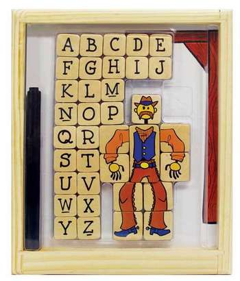 Hangman Magnetic Game picture