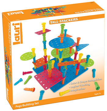 Tall Stacker™ Pegs & Building Set picture