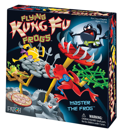 Flying Kung Fu Frogs™ picture