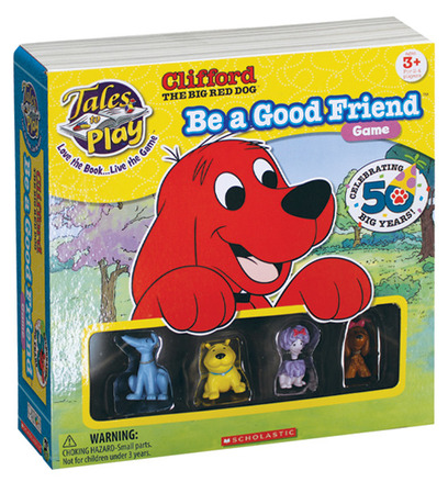 Clifford Tales to Play® Be a Good Friend™ Game picture