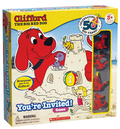 Clifford You're Invited!™ Game