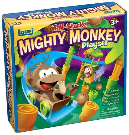 Tall-Stacker™ Mighty Monkey® Playset