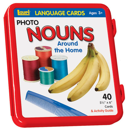 Nouns (Around the Home) Language Cards picture