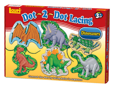 Dot-2-Dot Lacing™ Dinosaurs picture