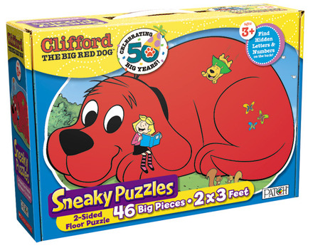 Sneaky Puzzles® Clifford the Big Red Dog™ picture