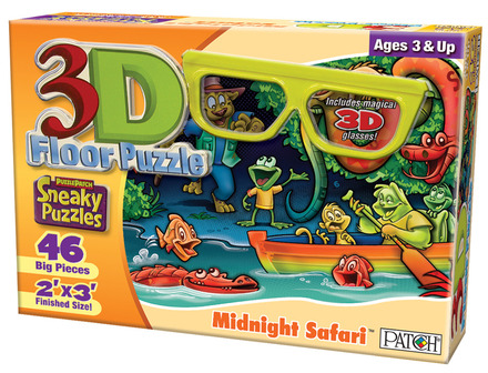 3D Sneaky Puzzles® Midnight Safari™ picture