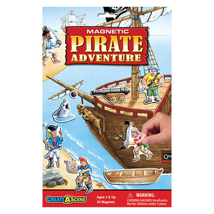 Create A Scene™ Magnetic Pirate Adventure™