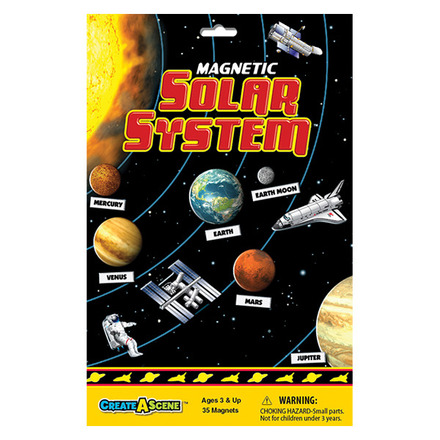 Create A Scene™ Magnetic Solar System™ picture