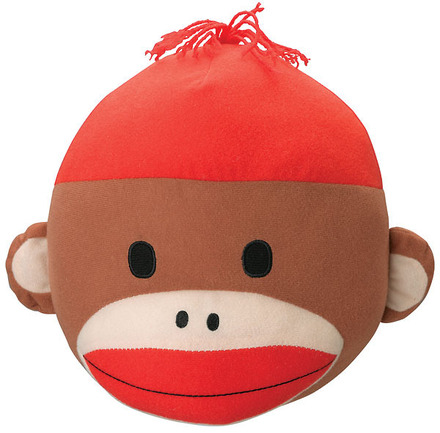 Sock Monkey Plush Head picture