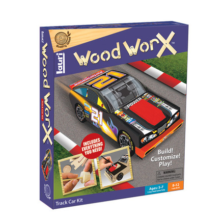 Wood WorX™ Track Car Kit picture