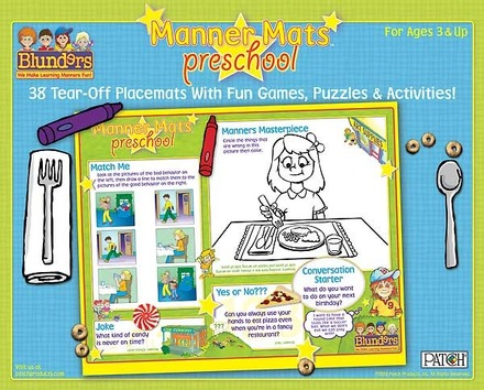 Blunders® Preschool Manner Mats™ picture