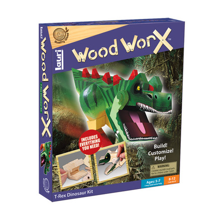Wood WorX™ T-Rex Dinosaur Kit