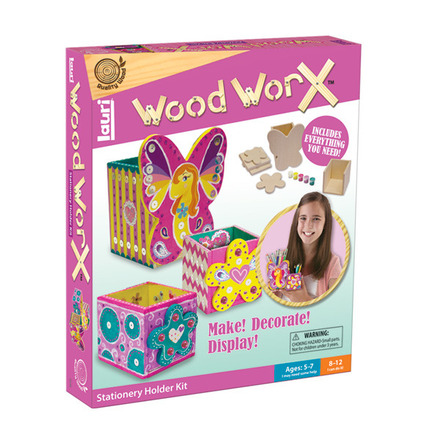 Wood WorX™ Stationery Holder Kit picture