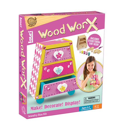 Wood WorX™ Jewelry Box Kit picture