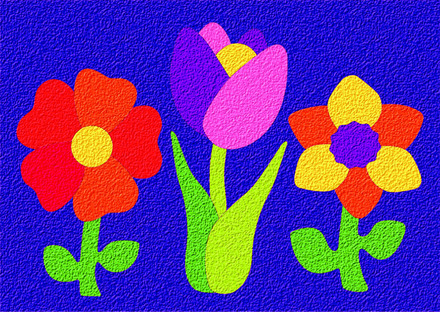 Lauri® Crepe Rubber Puzzle Flowers picture
