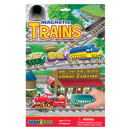 Create A Scene™ Magnetic Trains™ picture