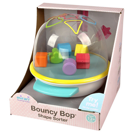 Mirari® Bouncy Bop™ Shape Sorter