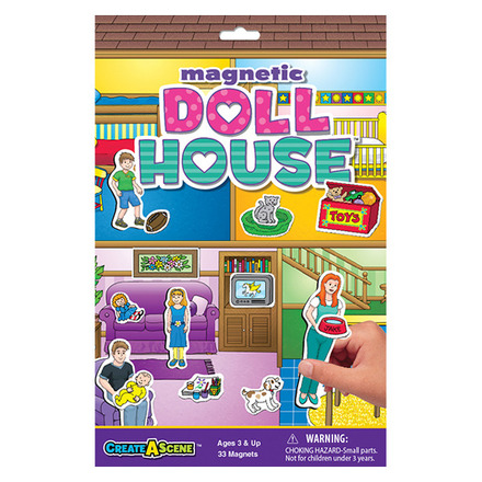 Create A Scene™ Magnetic Dollhouse™ picture