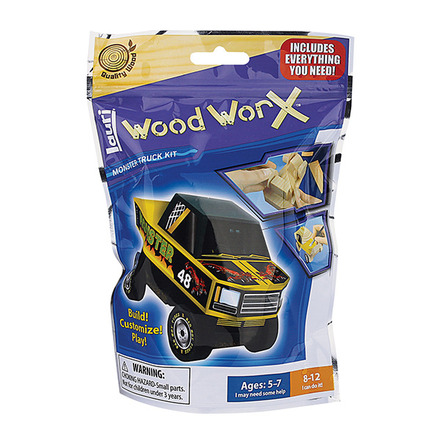 Wood WorX™ Monster Truck Kit picture