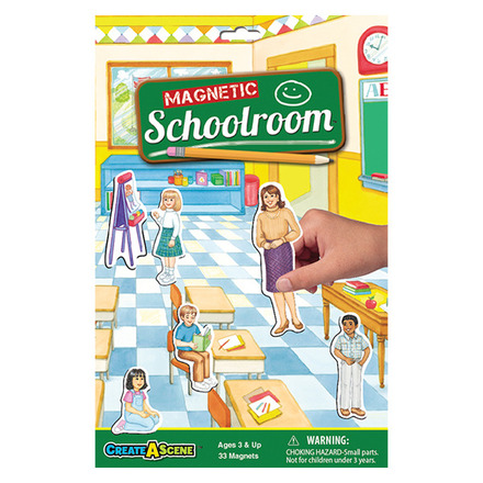 Create A Scene™ Magnetic Schoolroom™