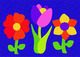 Lauri® Crepe Rubber Puzzle Flowers