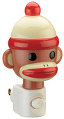 Sock Monkey Night Light