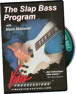 Alexis Sklarevski: The Slap Bass Program picture